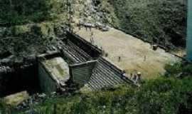 Pindobaçu - barragem de Pindobaçu em construção, Por Ronilson Carvalho